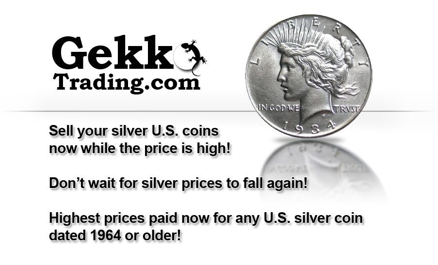 [Sell your silver coins now]